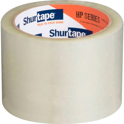 "Shurtape® HP 500 Carton Sealing Tape 3"" x 55 Yds. 3 Mil Clear - Pkg Qty 24"