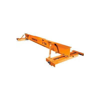 Harrington CHPC 500 Series Top Running or Underhung Push Complete Crane - 1 Ton, 24' Max Span