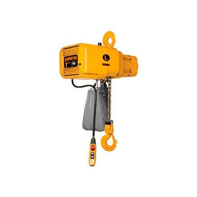 NER Dual Speed Electric Chain Hoist - 1/2 Ton, 15' Lift, 29/5 ft/min, 460V