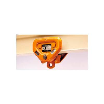 "Harrington PT Push Trolley PTF2030 - 2-1/2 - 3 Ton, Flange Adjustability 3.23"" to 6.02"""