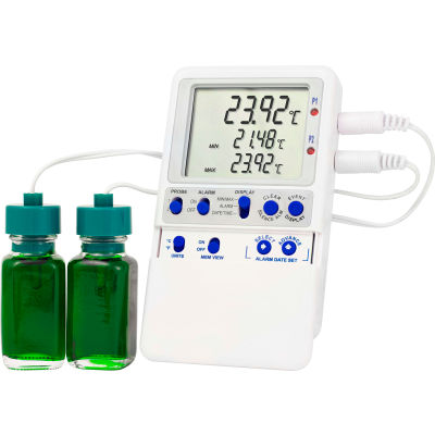 American Biotech Supply Dual Probe Temperature Monitoring Device with USB Transfer