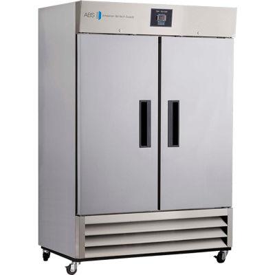 American Biotech Supply Premier Stainless Steel Laboratory Refrigerator, 49 Cu. Ft.