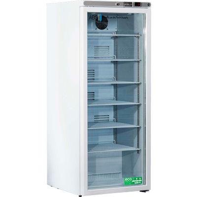 American Biotech Supply Premier Laboratory Compact Refrigerator ABT-HC-10PG, 10.5 Cu. Ft.
