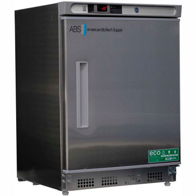American Biotech Supply Premier Built-In Undercounter Freezer ABT-HC-UCBI-0420SS, 4.2 Cu. Ft.