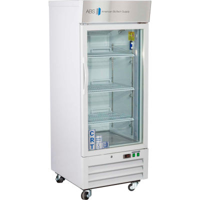 ABS Upright Controlled Room Temperature Cabinet, Glass Door, 12 Cu.Ft.