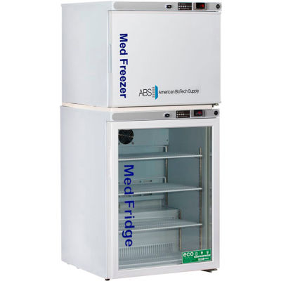 ABS Premier Pharmacy/Vaccine Refrigerator & Freezer Combination, Manual Defrost Freezer, 7 Cu.Ft.