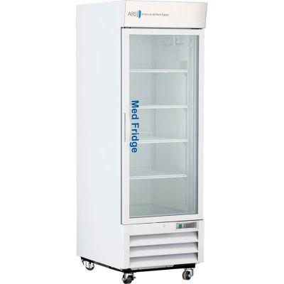 American Biotech Supply Standard Pharmacy/Vaccine Swing Glass Door Refrigerator, 23 Cu. Ft.