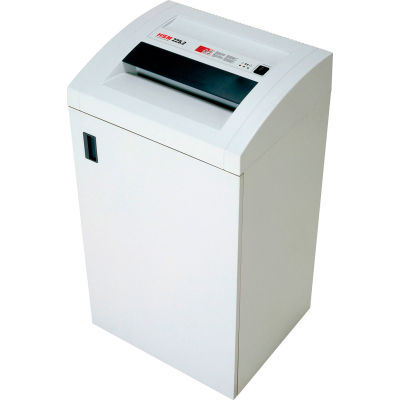 HSM® HSM14584 Classic 225.2HS High Security Cross Cut Shredder with Auto Oiler, White