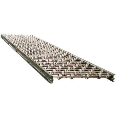 "Hytrol® 10 Ft. Skatewheel Section 10FT-3SW-18-16 - 18"" OAW - 16 WPF"