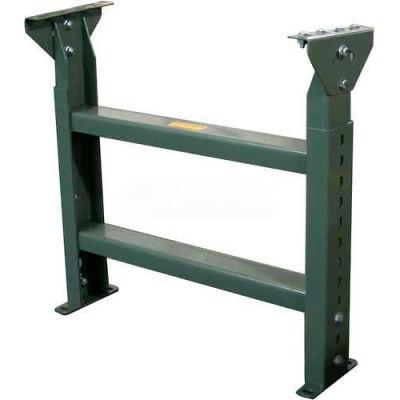 """Hytrol® Stationary Floor Support MS-7-30 - 30""""W - Max. Leg 45-5/8""""H"""