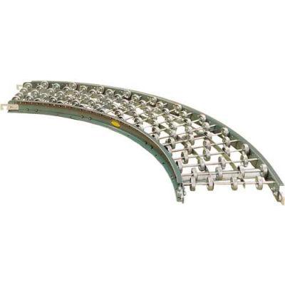 """Hytrol® Skatewheel Curve SWC-15-45 - 15"""" OAW - 45 Degree"""