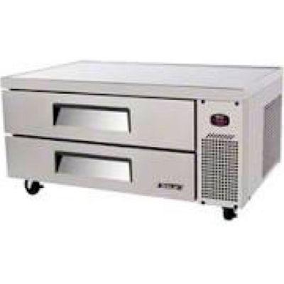 "Turbo Air TCBE-48SDR Chef Base Refrigerator - 47-5/8""W x 32""D x 20-1/2""H"