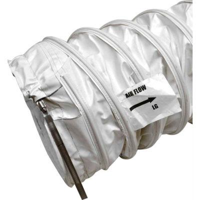 "Heat Wagon 25' Long High Temperature Heater Duct WD2025HT5 - 20"" Diameter"