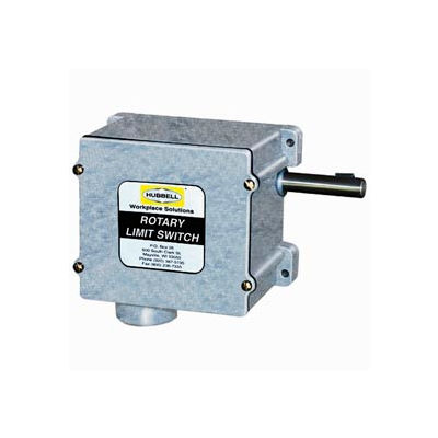 Hubbell 55-4E-3SP-WR-111 Series 55 Limit Switch - 111:1 Gear Ratio w/ 3 Contact Blocks