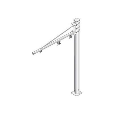 Hubbell W5S-060702 Jib Kit-Heavy Duty Floor Mounted, 50 Lb. Cap. 6 Ft. Swing Boom on 7' Column