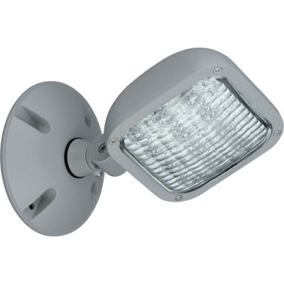 Hubbell CWRS Outdoor Single Head Remote LED Fixture, Use w/ CU2W, Outdoor, Grey