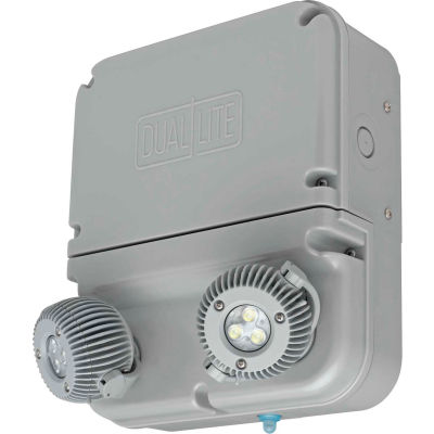 Hubbell DYN6I-4X Dynamo Industrial LED Emergency Unit, NEMA 4X/IP66, 3W LED Lamps, Self-Diagnostics