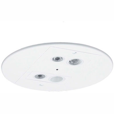 Hubbell EV4R LED Compact White Emergency Unit, 4W LED Heads