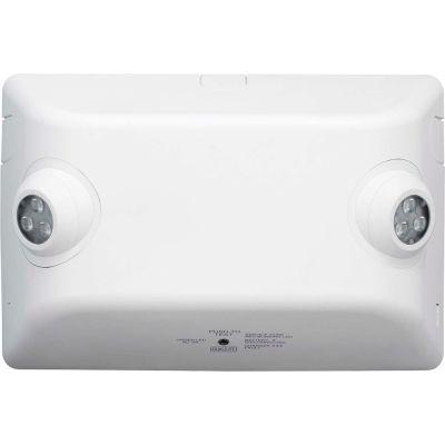 Hubbell EVHC6 LED High-Lumen Emergency Unit, White, 326 Lumens, For High Mounts