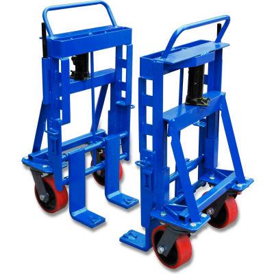 Heavy Duty Equipment Dolly Mover, 8000 Lb. Capacity