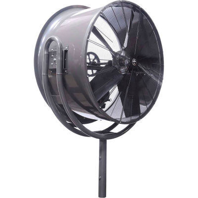 Jetaire® 24 Inch High Velocity Fan, Non-Oscillating, 230V, 1PH, 5600 CFM, 1/2 HP, Gray HV2413-W