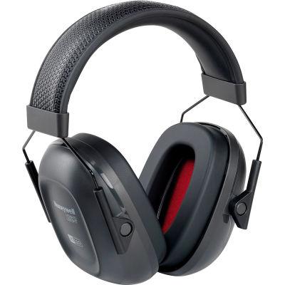 Honeywell VeriShield™ 1035100-VS 100 Passive Earmuffs, Over The Head, Black, NRR 24