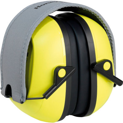 Honeywell Verishield™ Folding Ear Muffs, 27 dB, Hi-Visibility