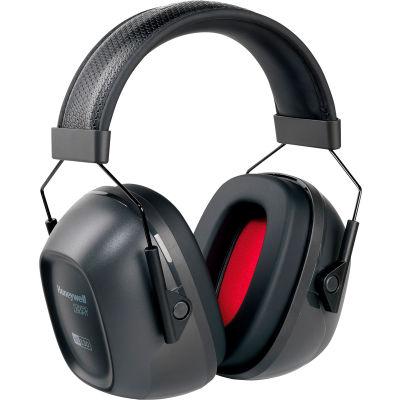 Honeywell VeriShield™ 1035108-VS 100 Passive Earmuffs, Over The Head, Black, NRR 30