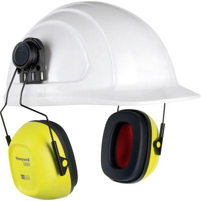 Honeywell Verishield™ Hard Hat Mounted Ear Muff, 27 dB, Hi Visibility