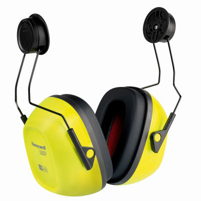 Honeywell Verishield™ Hard Hat Mounted Ear Muff, Dieletric, 23 dB, Black/Yellow