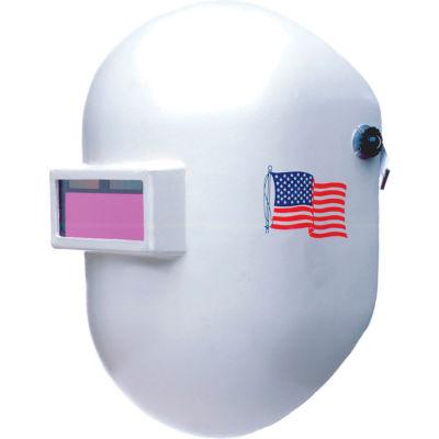 Honeywell Fibre-Metal® Pipeliner 110 Welding Helmet, Fiberglass, Shade 10, Ratchet Headgear