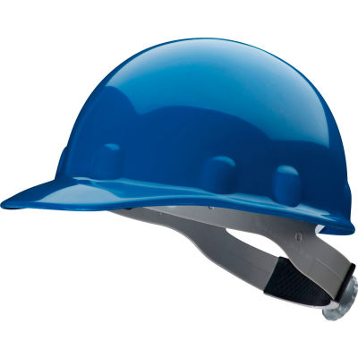 Honeywell Fibre-Metal® Cap Style Hard Hat, Ratchet Suspension, Royal Blue, HDPE, E2 Series