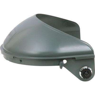 "Honeywell High Performance® Faceshield Headgear, 4"" Crown, Quick-Lok Mounting Cups"