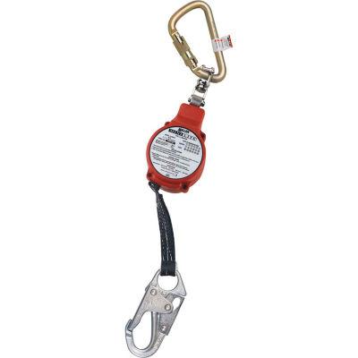 Miller® MiniLite™ 11'L Fall Limiter, Twist-Lock Carabiner/Swivel Shackle FL11-3-Z7/11FT