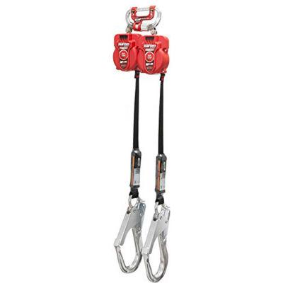 Miller® Twin Turbo™ G2 9'L Fall Protection System, Aluminum Rebar Hooks, MFLC-12-Z7/9FT