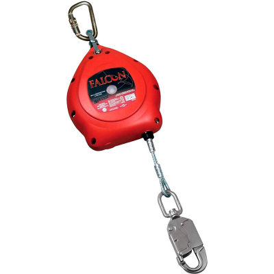Miller® Falcon™ Self-Retracting Lifelines, 30' L, Galvanized Cable, MP30G-Z7/30FT