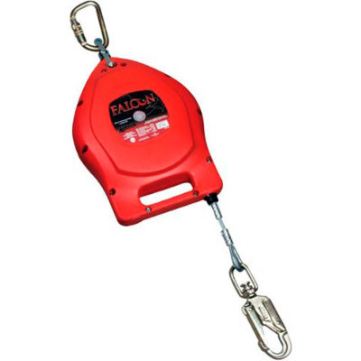 Miller® Falcon™ Self-Retracting Lifelines, 50' L, Galvanized Cable, MP50G-Z7/50FT