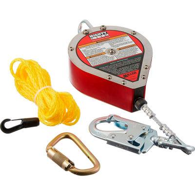 Miller® MightyLite™ Self-Retracting Lifeline, 20' L, Galvanized Cable, RL20G-Z7/20FT