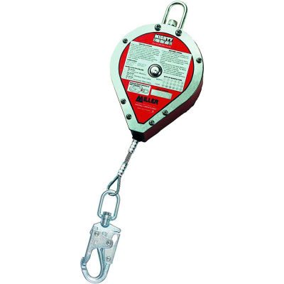 Miller® MightyLite™ Self-Retracting Lifeline 20' L Stainless Steel Cable RL20SS-Z7/20FT