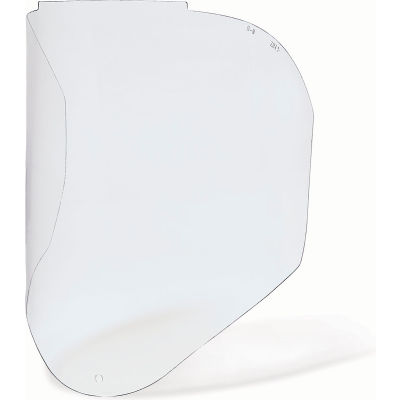 Honeywell Uvex® Bionic Faceshield Replacement Visor, Polycarbonate, Clear Uncoated, 1/Each