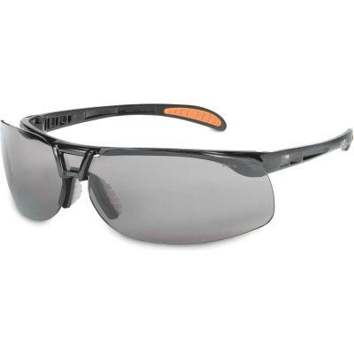 Uvex® S4201HS Protege Safety Glasses, Black Frame, Gray HS Lens