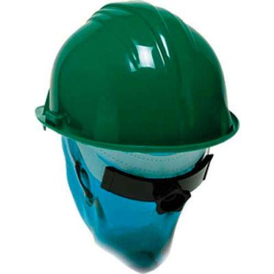 ComfitWear® Hard Hat With Ratchet Nape Strap, Polyethylene, Green - Pkg Qty 20