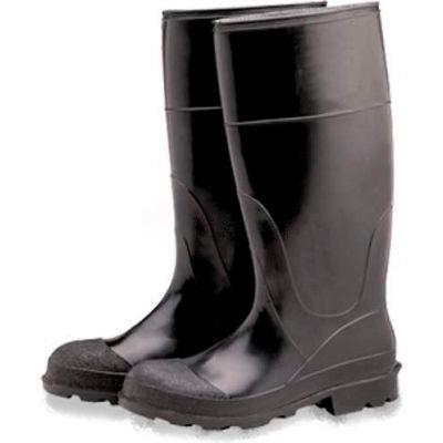 ComfitWear® Industrial Knee Boots, Size 6, Vinyl, Black, 1-Pair - Pkg Qty 6
