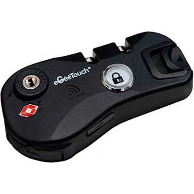 eGeeTouch Smart Luggage Zipper Lock 5-03000-M9 - NFC Access - DIY - Black