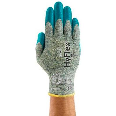 HyFlex® Cr+ Foam Nitrile Coated Gloves, Ansell 11-501-8, 1-Pair