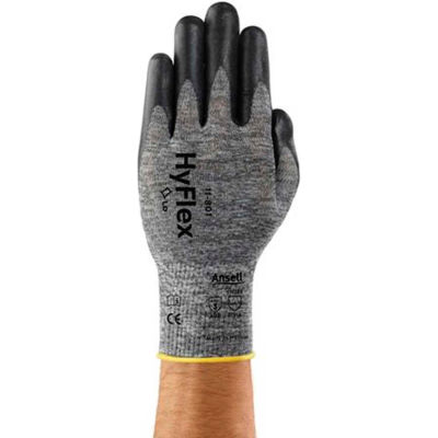 Hyflex® Foam Nitrile Coated Gloves, Ansell 11-801-10, 1-Pair