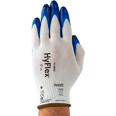 HyFlex®  Nitrile Coated Gloves, Ansell 11-900-10, 1 Pair - Pkg Qty 12