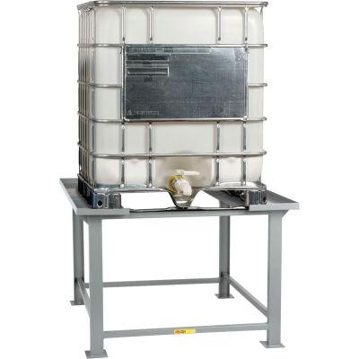 Little Giant® IBC Stand IBCS-5252 with Outside Corner Lip 52 x 52 x 35-1/2