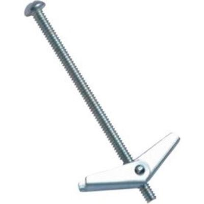 """1/4"""" x 3"""" Toggle Bolt - Mushroom Head - Steel - Zinc - Pkg of 50 - Wej-It TBM1430"""