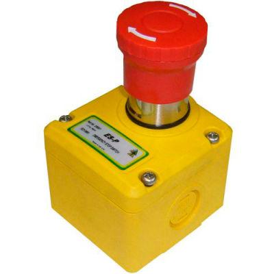 IDEM 230001 ES-P E-Stop Switch Knockout, 1/2NPT, 2NC 1NO, M20, Die Cast